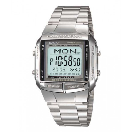 39aed2ef7ff Relógio Casio Vintage Unissex Data Bank DB-360-1ADF.